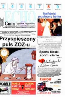 Echo Gmin : tygodnik regionalny 2004, nr 5 (333).
