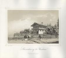 Schweizerhaus auf der Heuscheuer. Schronisko Szwajcarka na Szczelińcu Wielkim