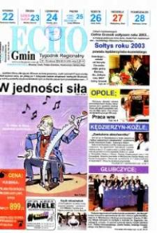 Echo Gmin : tygodnik regionalny 2004, nr 25 (353).