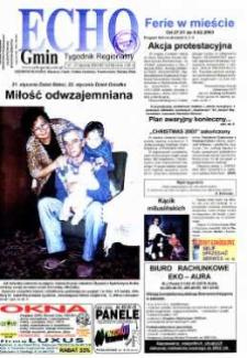 Echo Gmin : tygodnik regionalny 2003, nr 3 (279).