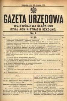 Dział Administracji Szkolnej, 1936, R. [13], nr 1