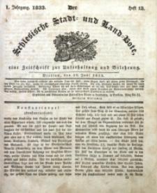 Der Schlesische Stadt- und Land-Bote, 1833, Jg. 1, H. 13