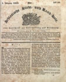 Der Schlesische Stadt- und Land-Bote, 1833, Jg. 1, H. 22
