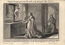 S. Hedwig wird in der Klosterkirch zu Trebnitz von Iesu am Kreuz… Św. Jadwiga błogosławiona przez Chrystusa