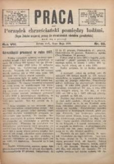 Praca, 1898, R. 8, Nr. 22