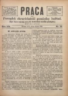 Praca, 1898, R. 8, Nr. 29