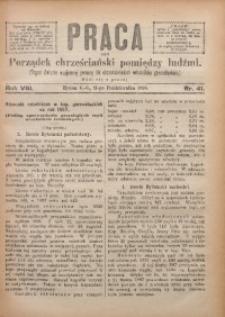 Praca, 1898, R. 8, Nr. 41