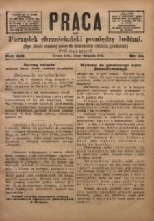 Praca, 1903, R. 13, Nr. 34