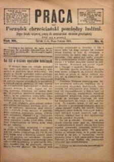 Praca, 1902, R. 12, Nr. 6