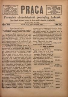 Praca, 1902, R. 12, Nr. 31
