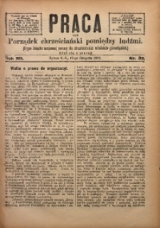 Praca, 1902, R. 12, Nr. 32