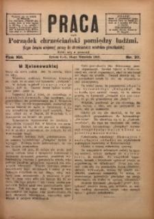 Praca, 1902, R. 12, Nr. 37