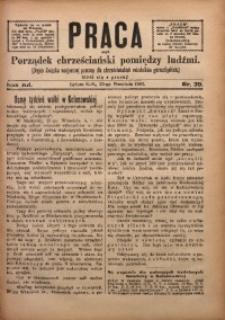 Praca, 1902, R. 12, Nr. 39
