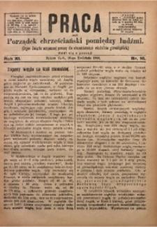 Praca, 1901, R. 11, Nr. 16
