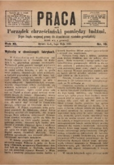 Praca, 1901, R. 11, Nr. 19