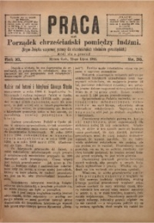 Praca, 1901, R. 11, Nr. 30