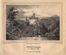 Schloss Fürstenstein vom Ferdinanden Platz. Widok na nowy zamek Książ