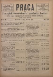 Praca, 1900, R. 10, Nr. 34