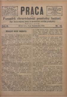 Praca, 1900, R. 10, Nr. 42