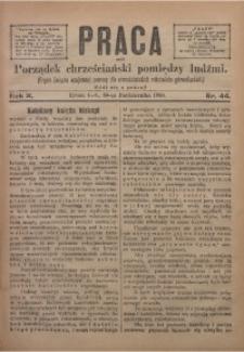 Praca, 1900, R. 10, Nr. 44