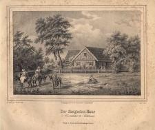 Der Steigerinn Haus in Conradsthal bei Salzbrunn. Dom w Konradowie (obecnie cz. Wałbrzycha)