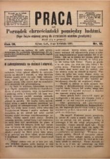 Praca, 1899, R. 9, Nr. 15