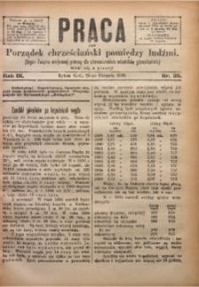 Praca, 1899, R. 9, Nr. 35
