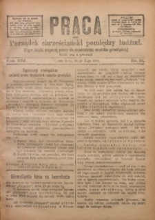 Praca, 1904, R. 14, Nr. 21