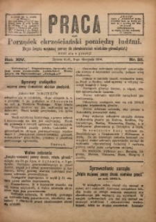 Praca, 1904, R. 14, Nr. 32