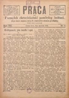 Praca, 1905, R. 15, Nr. 1