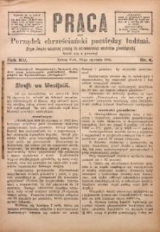 Praca, 1905, R. 15, Nr. 4