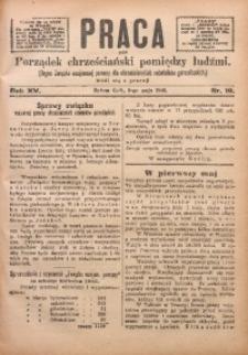 Praca, 1905, R. 15, Nr. 19