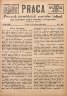 Praca, 1905, R. 15, Nr. 22
