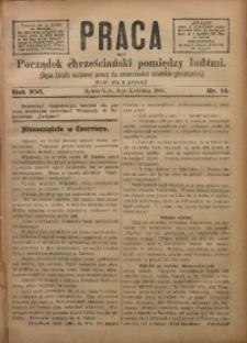 Praca, 1906, R. 16, Nr. 14