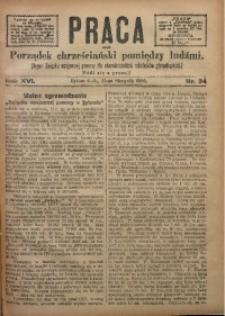Praca, 1906, R. 16, Nr. 34