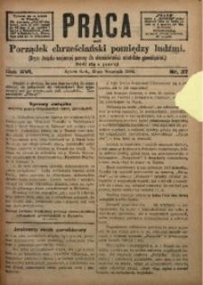 Praca, 1906, R. 16, Nr. 37
