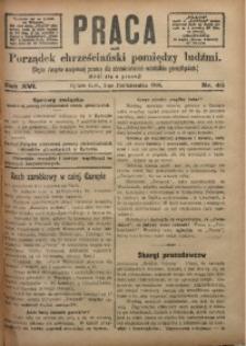 Praca, 1906, R. 16, Nr. 40