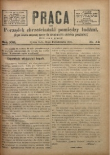 Praca, 1906, R. 16, Nr. 44