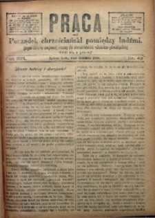 Praca, 1906, R. 16, Nr. 49