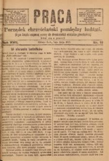 Praca, 1907, R. 17, Nr. 19