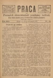 Praca, 1907, R. 17, Nr. 42