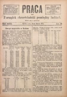 Praca, 1908, R. 18, Nr. 13