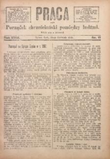 Praca, 1908, R. 18, Nr. 17