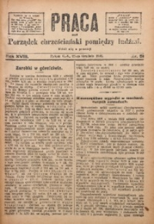 Praca, 1908, R. 18, Nr. 51
