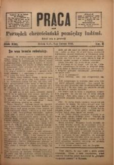 Praca, 1909, R. 19, Nr. 5