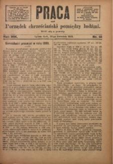 Praca, 1909, R. 19, Nr. 16