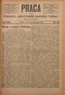 Praca, 1909, R. 19, Nr. 46