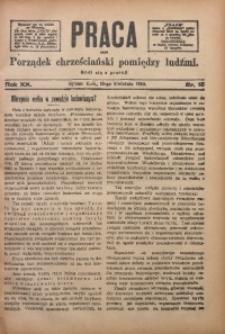 Praca, 1910, R. 20, Nr. 15