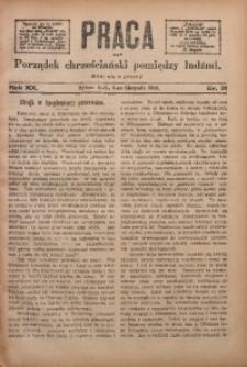 Praca, 1910, R. 20, Nr. 31