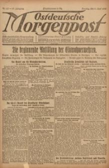 Ostdeutsche Morgenpost, 1920, Jg. 47, Nr. 100